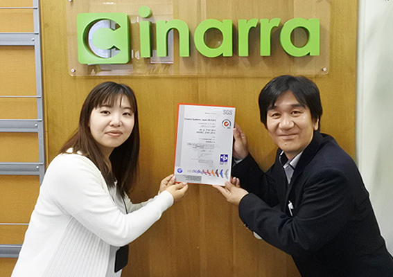 Cinarra Systems Japan株式会社様